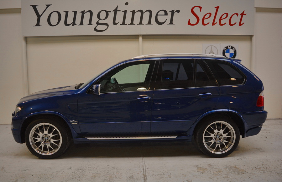 BMW X5 4.8is 98000 km